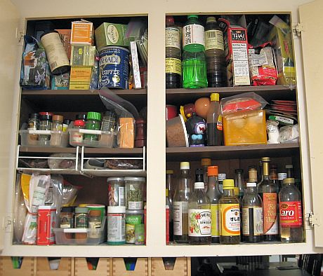 Before: Spice pantry in a jumble | by Biggie*