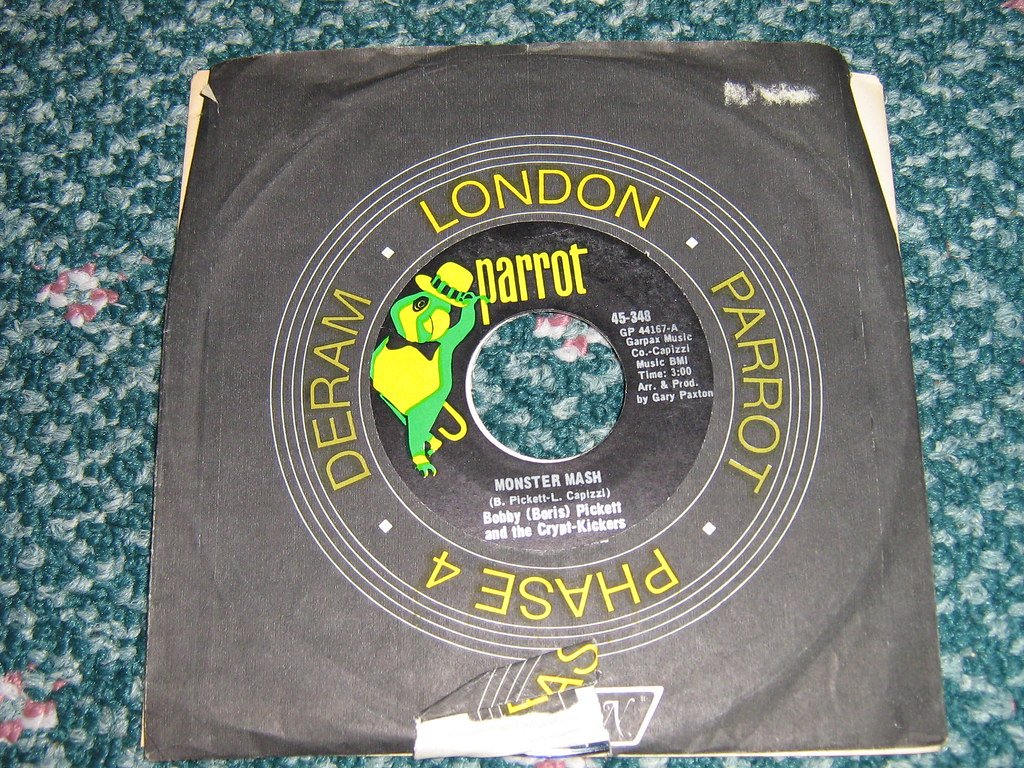 Bobby Boris Pickett And The Crypt Kickers The Original Monster Mash