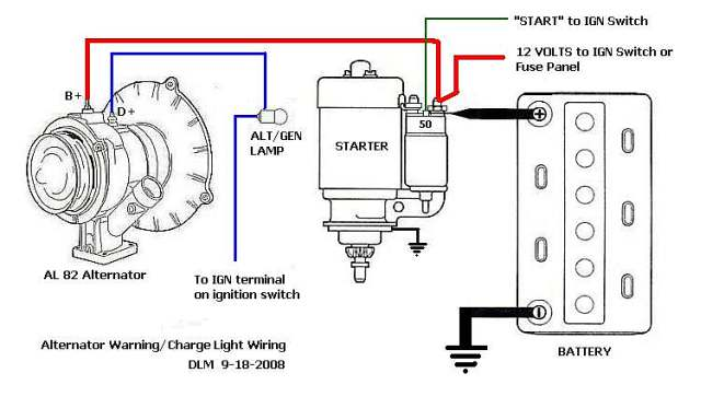 TheSamba.com :: Performance/Engines/Transmissions - View topic - Alternator  Dummy Light with Hotrod WiringTheSamba.com