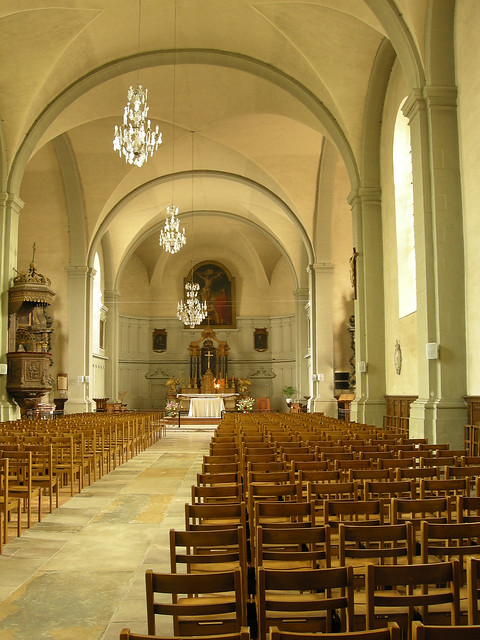 Flickr photo sharing for Interieur eglise