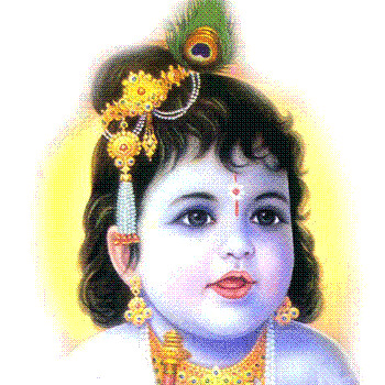 Chinni Krishna | Adorable Lord Shri Krishna | srinitla ... | 350 x 350 jpeg 115kB