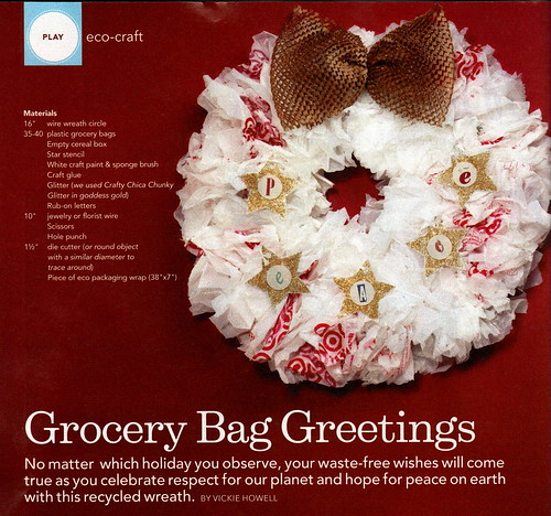 Waste-Free Wreath | by VickieHowell