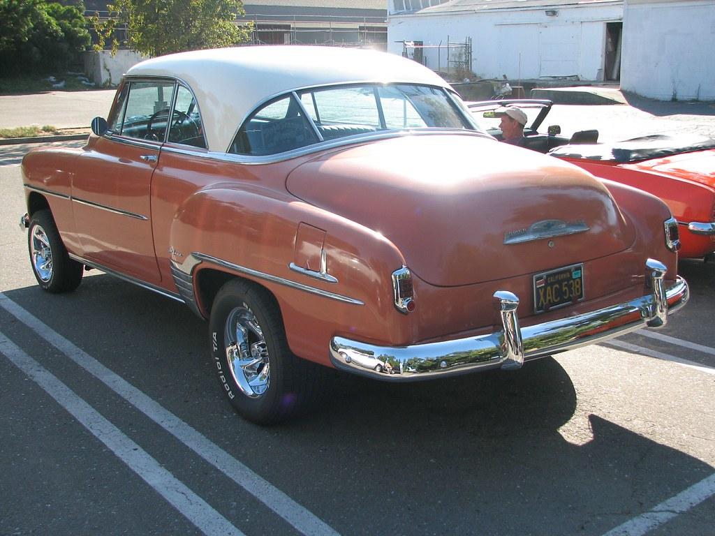 1952 chevrolet bel air 2 door hardtop custom 39 xac 538 39 4 for 1952 chevy 4 door