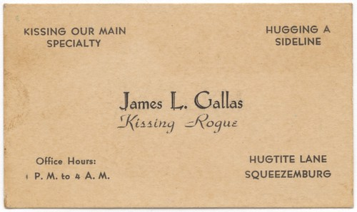 James L. Gallas, Kissing Rogue