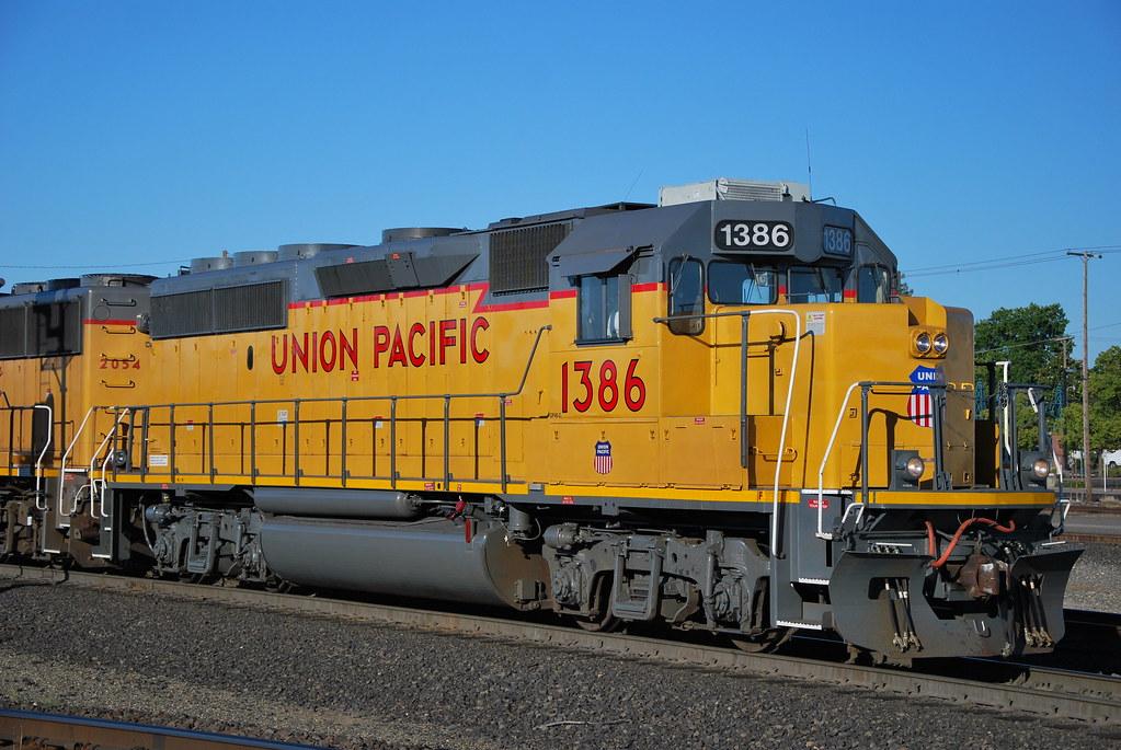 Union Pacific 1386 Gp40 2 Roseville Ca Longa1020 Flickr