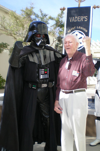 Vader and Ralph McQuarrie | by The Official Star Wars