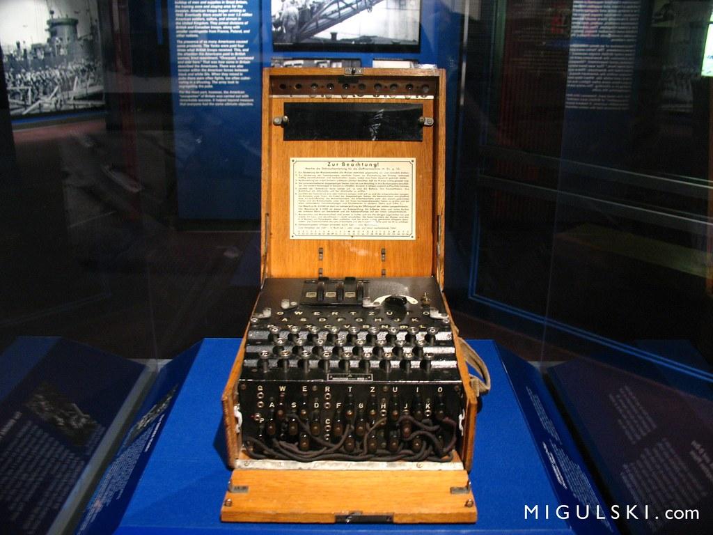 War Machines of World War 2 Enigma Machine World War