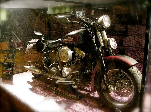 """Mutt William's motorcycle from """"Indiana Jones 4"""" 