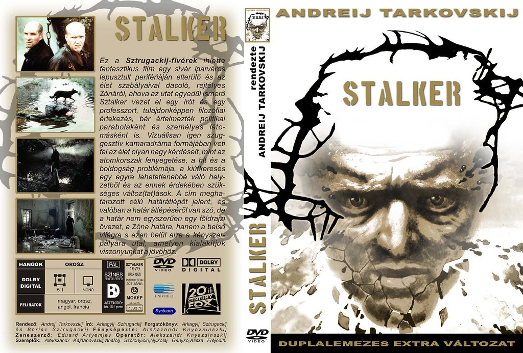 Stalker Dvd Stalker Dvd Cover | by
