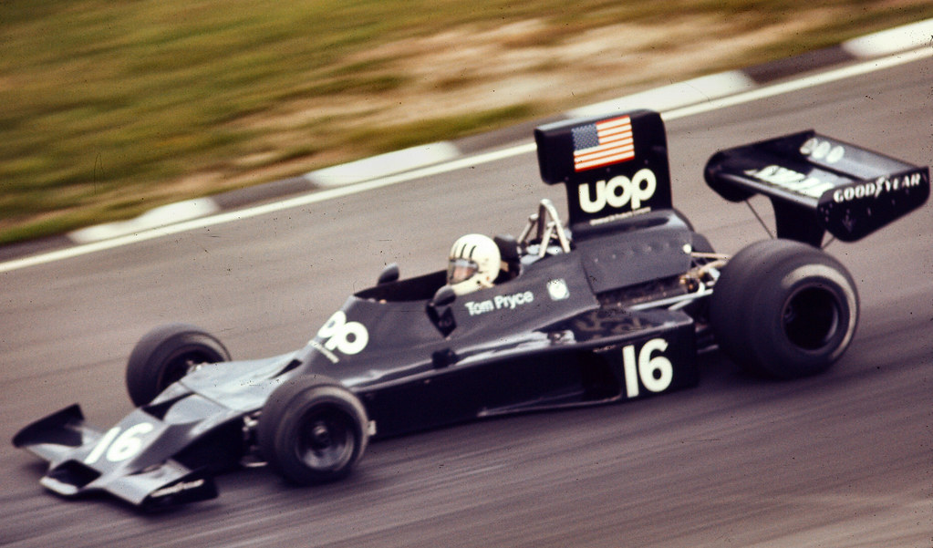 UOP Shadow British Grand Prix 1974 | Tom Pryce in the UOP Sh… | Flickr