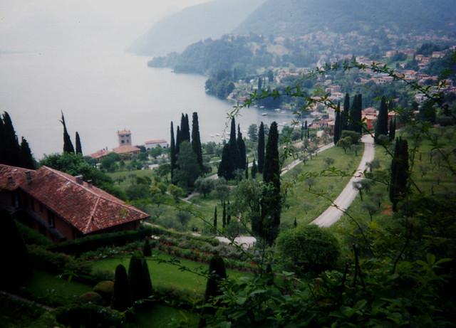 rockefeller estate on bellagio in lake como  italy