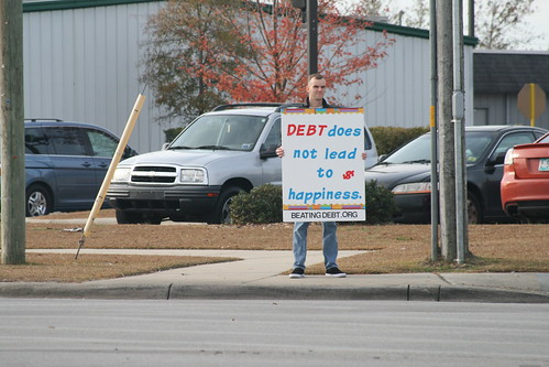 Debt Protest - Nov 28, 2008 | by eric731