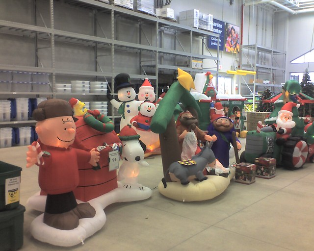holiday inflatables at lowes by geldred61