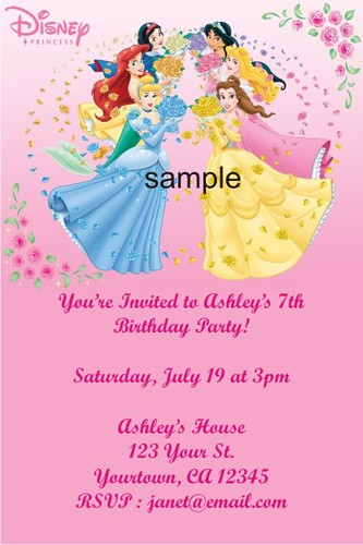 Disney Princess Party Invitations was great invitation layout