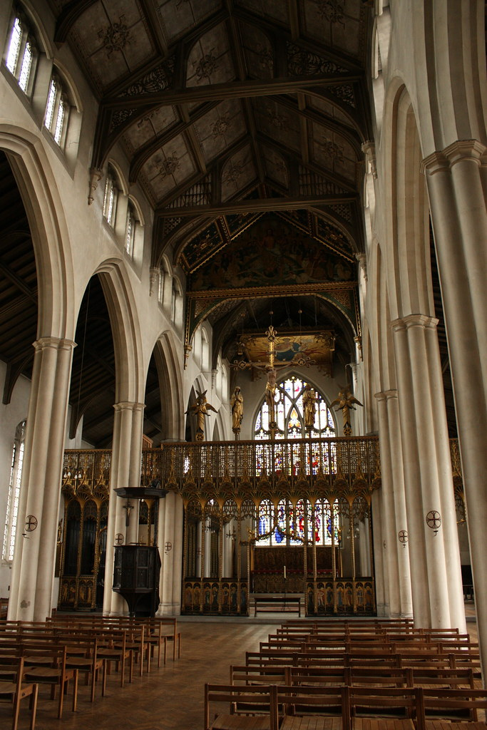 St Cyprian S Clarence Gate Quot The Most Joyful Church