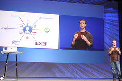 Mark Zuckerberg f8 Keynote - Mark Zuckerberg intros Facebook Connect