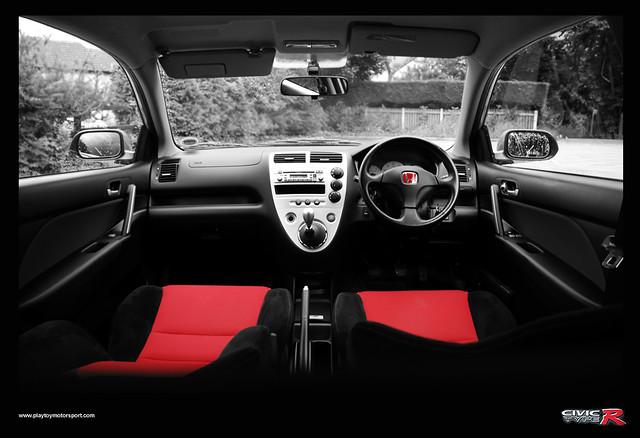 Honda Civic Type R >> Honda Civic Type R EP3 interior (facelift) | The interior of… | Flickr
