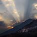 tramonto sulla Valle Antrona
