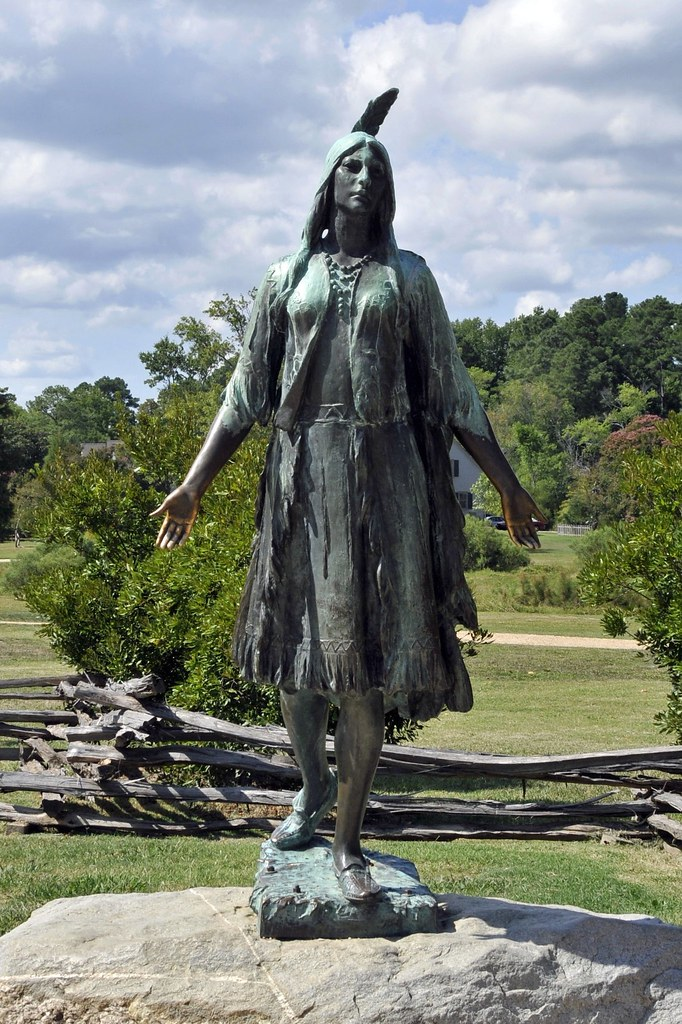 Colonization And Native Americans Pocahontas Statue Flickr