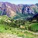 View looking down Peruvian Gulch - Snowbird Utah