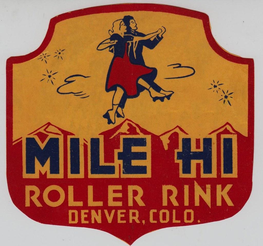 Denver To Hawaii: Mile Hi Roller Rink - Denver, Colorado