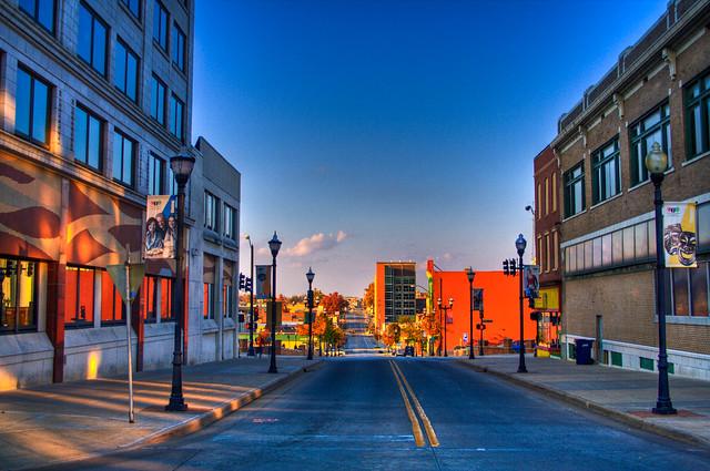 Springfield Missouri Downtown Springfield Missouri