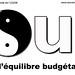 OUI à l'équilibre budgétaire