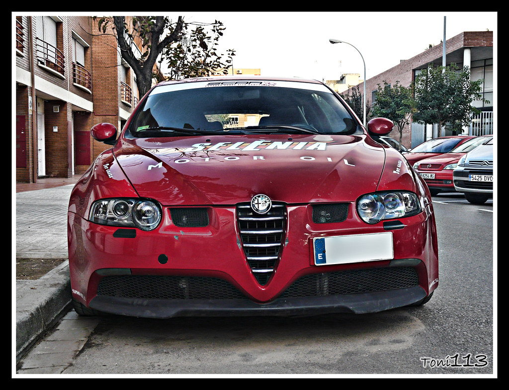 alfa romeo 147 gta cup alfa romeo 147 gta cup en el prat flickr. Black Bedroom Furniture Sets. Home Design Ideas