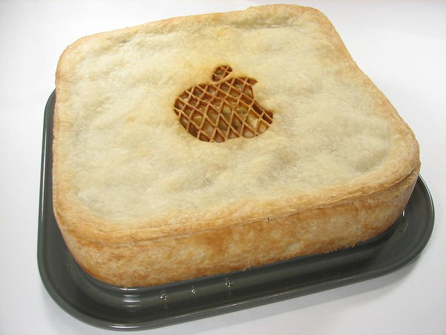 Apple Pie In A Round Cake Pan
