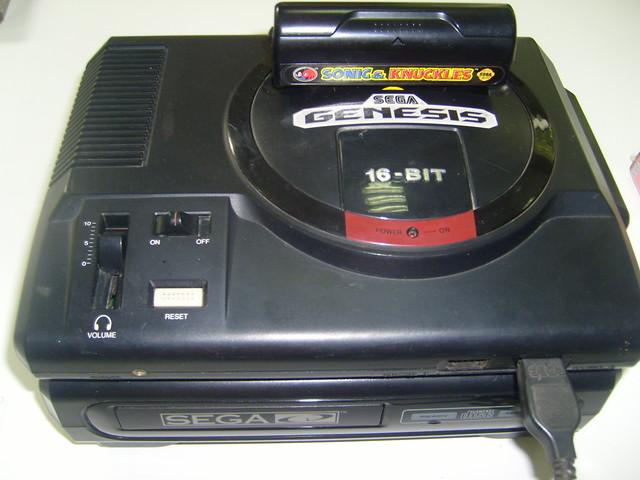 Sega Genesis + Sega CD