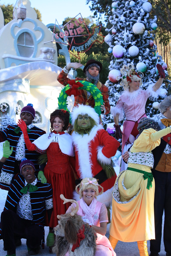 cast in the grinch who stole christmas