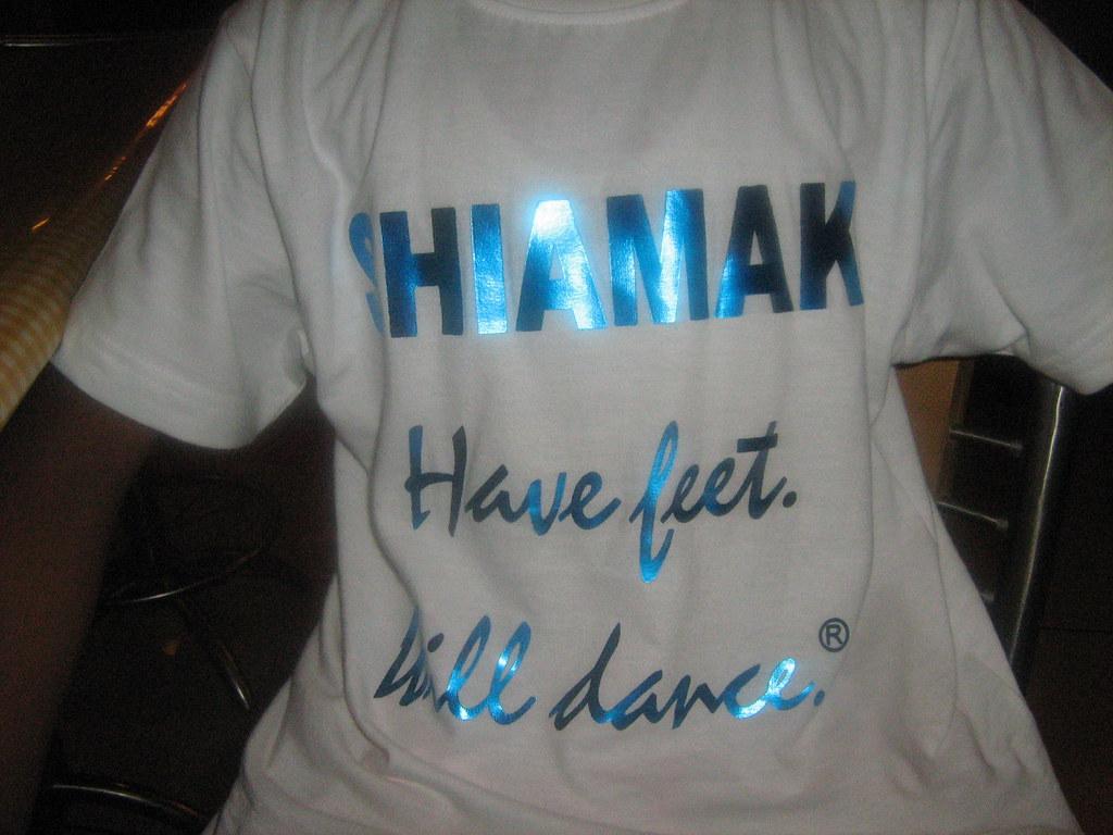 shiamak davar tshirt white akash ahmedabad shiamak