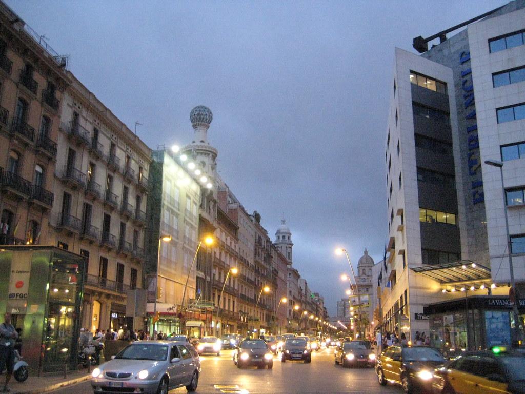 Calle pelayo carrer pelai una de las calles m s - Oficinas pelayo barcelona ...