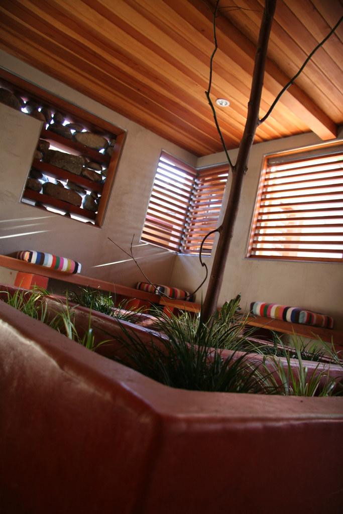 Room built around tree outdoor room 01 q 2 jeremy levine for Garden rooms b q