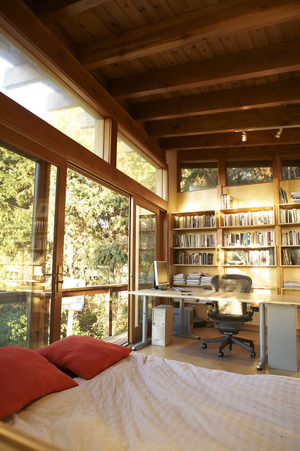 Urban Cabin Home Office Project Name Laurelwood Avenue Flickr