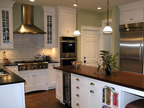 Sage green kitchen atexski flickr for Sage green kitchen ideas