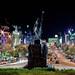 wenceslas square, prague, praga - václavské náměstí praha, night