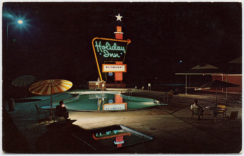 Greensboro Holiday Inn, 1961 | by Roadsidepictures