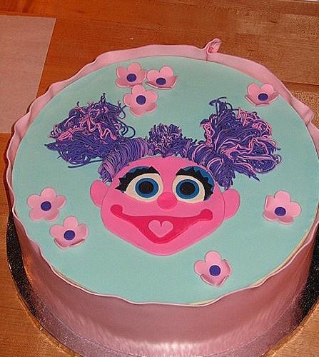 Abby Cadabby Cake Decorations