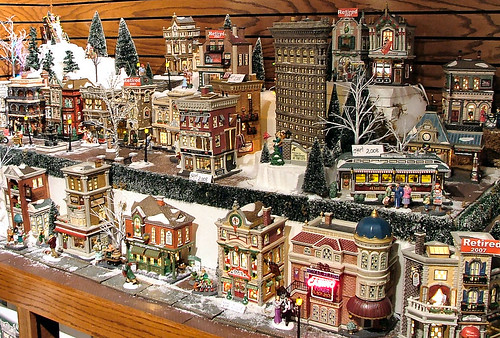 department 56 christmas in the city flickr photo sharing. Black Bedroom Furniture Sets. Home Design Ideas