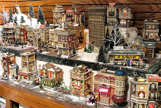 department 56 christmas in the city olde world canterbur flickr. Black Bedroom Furniture Sets. Home Design Ideas