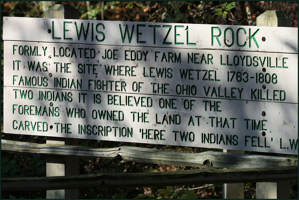 Lewis Wetzel Rock Barkcamp State Park Belmont County