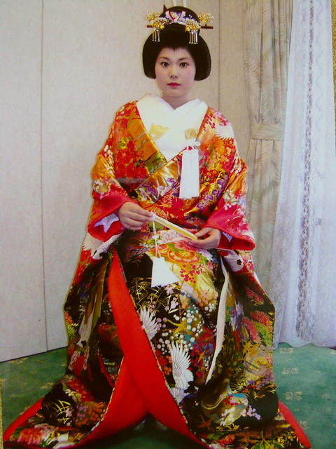 Traditional Japanese Wedding Kimono Amp Hair 別名: 大奥コスプレ