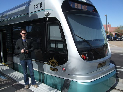 Me and light rail go together | by Steven Vance