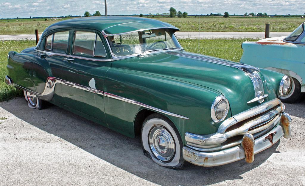 1954 Pontiac Chieftain Eight 4 Door Sedan 3 Of 7 Flickr