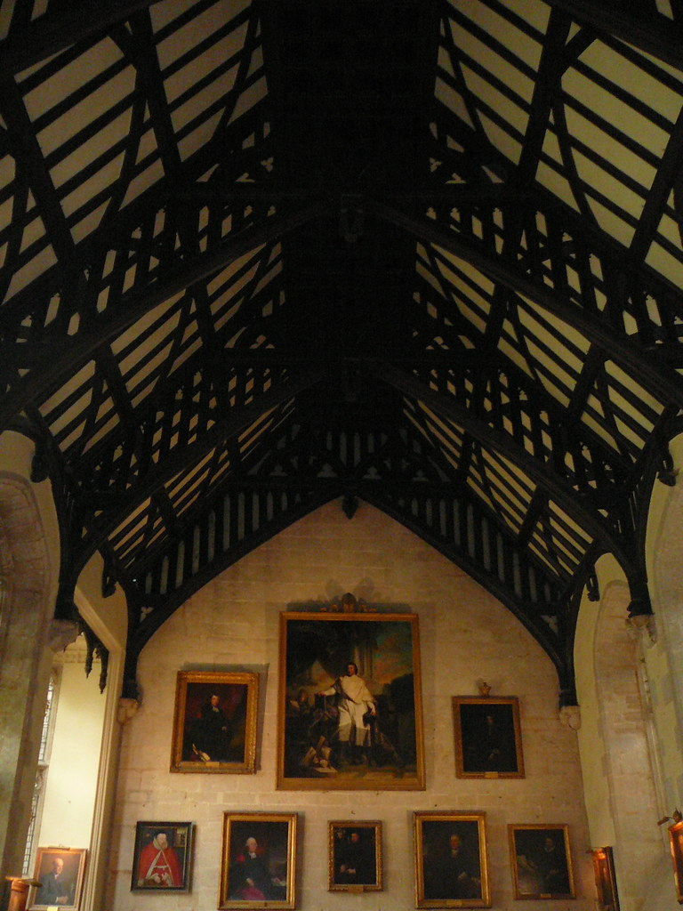 Medieval Dining Hall Dining Hall In Lincoln College
