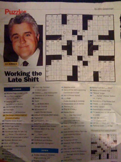 Current image for people magazine crossword printable