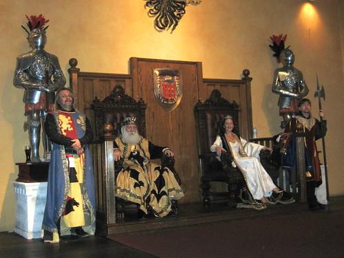 Orlando >> Royal Court at Medieval Times, Orlando | tenuous link: king | Kate Skegg | Flickr