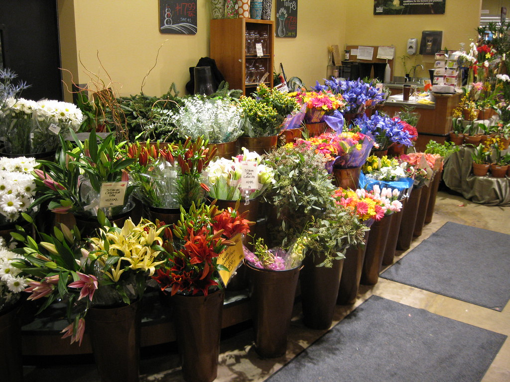Flower Stand at Whole Foods Jack Kennard