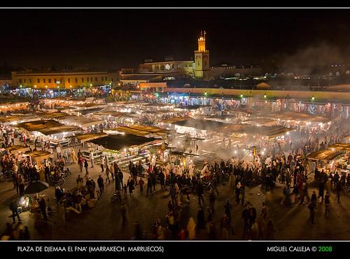 Plaza de djemaa el fna 39 marrakech marruecos flickr - Fotos marrakech marruecos ...